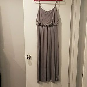 Mossimo gray jersey maxi dress